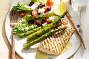 Buttery Lemon Grilled Fish