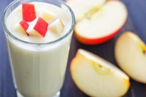 how to make apple juice with milk